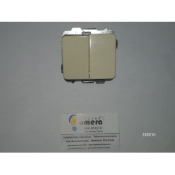 51623711F MARFIL DOBLE INTERRUPTOR