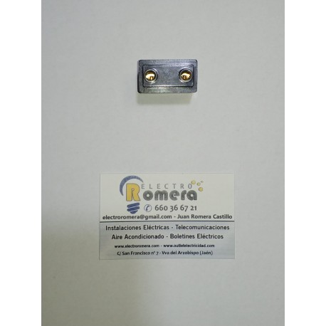 BASE DE ENCHUFE 10 A 250 V MARRON BJC