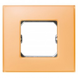 PLACA 1 ELEMENTO SALMON MATE
