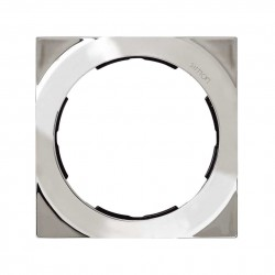 Marco para mecanismo universal de 1 elemento redonda de diametro 100mm