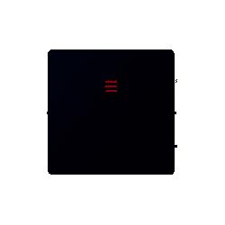 Tecla pulsador luz luminoso grafito SIMON 82016-38