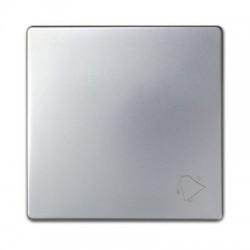 Tecla pulsador campana Simon 82017-33 aluminio mate