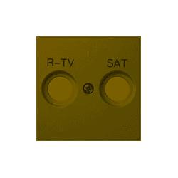 Tapa toma television satélite marfil Simon 82097-31