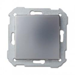 Tapa ciega bastidor Simon 82 aluminio mate 82800-33