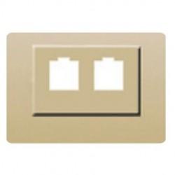TAPA PARA ADAPT-DOBLE RJ R11-R45 21882-GL