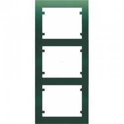 Marco de 3 elementos vertical VERDE MINERVA BJC IRIS 18103-VM
