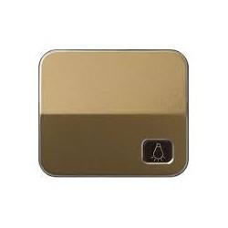 Tecla individual con grabado luz para pulsador bronce Simon 75 75018-36