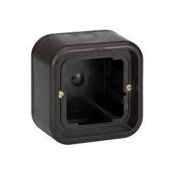 Caja de superficie alta de 1 elemento 86x86x46