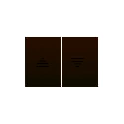 Tecla Para Interruptor De Persianas Beige Bjc Coral 21765-a