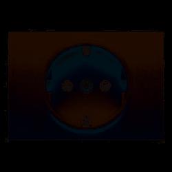 Tapa para base de enchufe 2P+TT GRIS SOMBRA BJC Coral 21724-GS