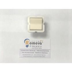 interruptor blanco 10A 626