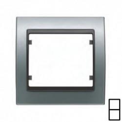 Marco 2 Elementos Vertical Aluminio Fusión Cosso Bjc Mega 22102-afc