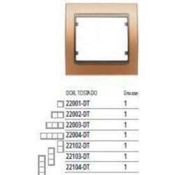 Marco 1 elemento BLANCO PERLA COSSO BJC Mega 22001-BPC