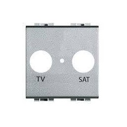 Tecla ancha blanca pulsador timbre