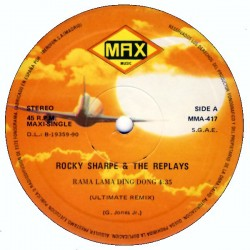 Rocky Sharpe & The Replays ‎– Rama Lama Ding Dong Ultimate Remix