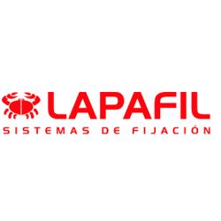 GRAPAS DE PLATICO 8 MM BLANCO LAPAFIL