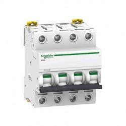 GENERAL ELECTRIC Interruptor magnetotermico PC60 4P 10A cur.C 6KA (2mod.)