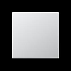 Placa central negra Niko para caja de conexiones 1x cable coaxial o altavoz
